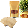 50 Sacs De Conservation Des Aliments En Papier Kraft 22cm x 15cm ( Remplacez vos bocaux et vos boites en plastique )