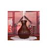 Diffuseur Vase D'Huiles Essentielles Et Humidificateur 130ml Marron  Avec 7 Changements De Couleurs LED-Aromathérapie