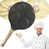 Poêle Crêpière Antiadhésive Idéal Pour : Crêpe , Baghrir , Pan-cakes , Harcha , œufs ...