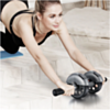 Roulette Abdos  Pour Exercices Musculation Abdominaux Power Stretch Roller