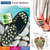 Sandale De Massage réflexologie des pieds ( Conçu pour soulager la douleur et les tensions du pied)