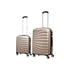 Set 2 Valises Trolley Rigide Caretta Gold  Grande + Cabine